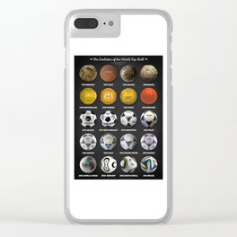 The World Cup Balls Clear iPhone Case
