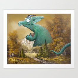Who's There Art Print