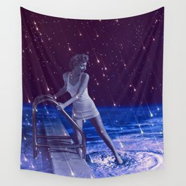 Space Dip Wall Tapestry