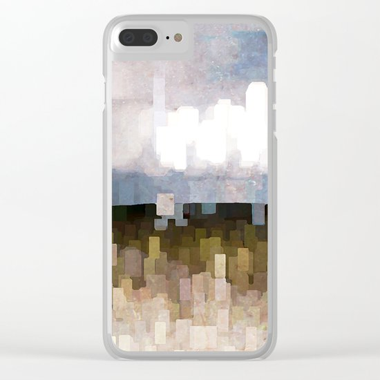Weather Phenomena Clear iPhone Case