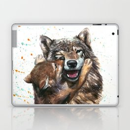 Wolf - Father and Son Laptop & iPad Skin