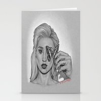 iggy Stationery Cards featuring IGGY by Michael Villalobos