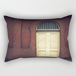 Railroad Museum Door Rectangular Pillow