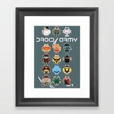 DroidArmy: Maclac Squadron Framed Art Print