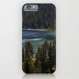 Emerald Bay State Park, South Lake Tahoe  iPhone Case