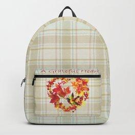 A Grateful Heart Backpack