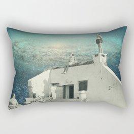 We Don't Belong Here Rectangular Pillow
