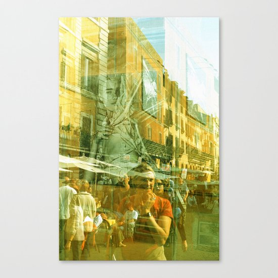 Summer in April Canvas Print