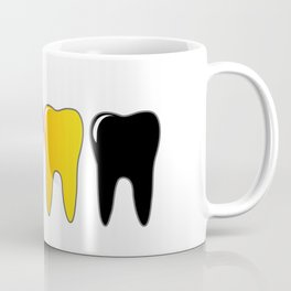 CMYK tooth Coffee Mug