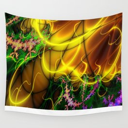 Yellow and more (A7 B0147) Wall Tapestry