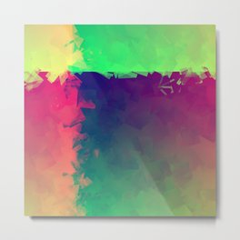 Abstract Number-8 Metal Print