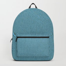 Solid Turquoise Blue Backpack