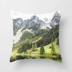 Alps in Austria. Throw Pillow