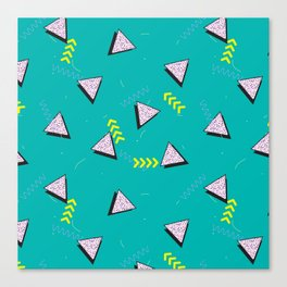 Memphis Pattern #8 Canvas Print