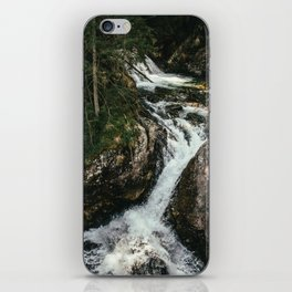 Waterfall In The Mountains iPhone Skin