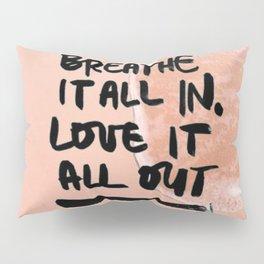 Pastel Pink Beach Pillow Sham