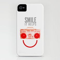 Smile. It Helps. Slim Case iPhone (4, 4s)