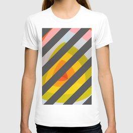 Unleash Color - Rainbow Geometric Pattern T-shirt
