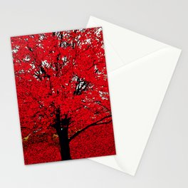 TREE RED Stationery Cards