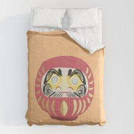 Daruma Doll 2 Comforters
