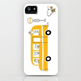 BUS STOP iPhone Case