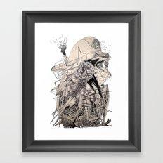 Eagleheart Framed Art Print