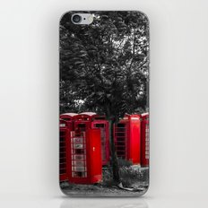The Phonebox Graveyard iPhone Skin