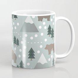 Bears in the Mountains Coffee Mug
