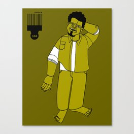 1001 Black Men--#104 Canvas Print