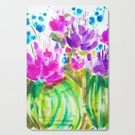 Flowerista Cactus Cutting Board