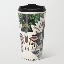 AYAHUASCA CAT (Kaleidoscope)  Travel Mug