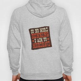 Misbehave Spaghetti Western Hoody