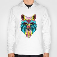 animals Hoodies featuring animals by mark ashkenazi