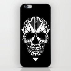 MUSICAL SKULL iPhone & iPod Skin