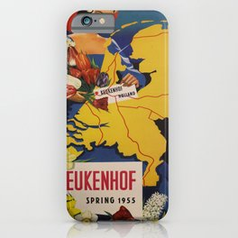 retro Keukenhof old psoter iPhone Case