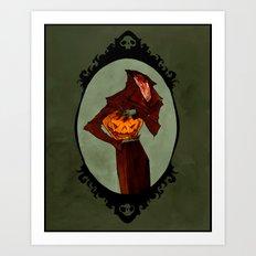 Legend of Sleepy Hollow Art Print