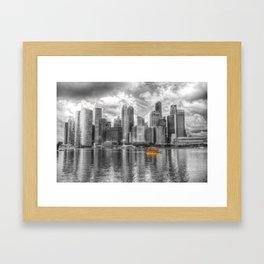 Singapore Marina Bay Sands Framed Art Print