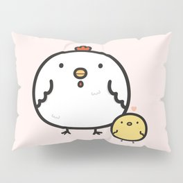 Cute chick and chicken Pillow Sham