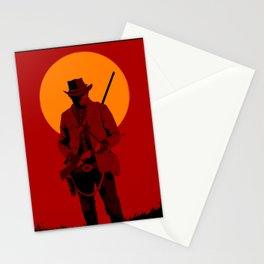 Red Dead Stationery Cards
