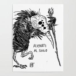 Mostro Brutto alienato Poster