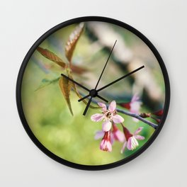 WILD CHERRY Wall Clock
