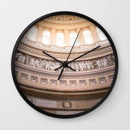 Frieze of American History - Washington DC Wall Clock