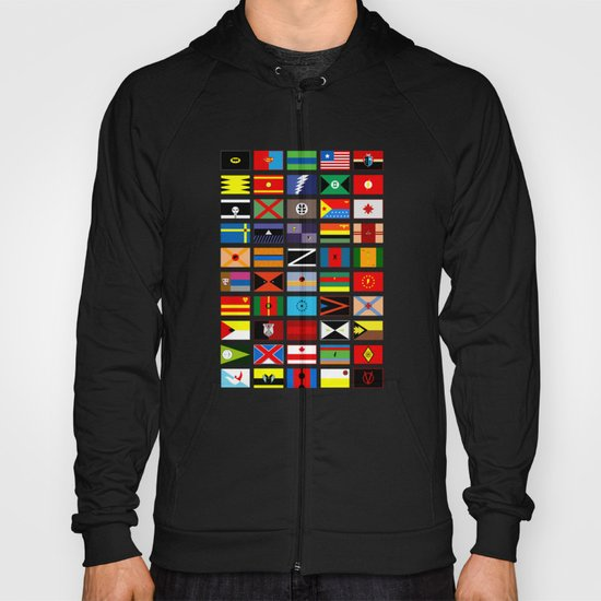 SH as flags Hoody