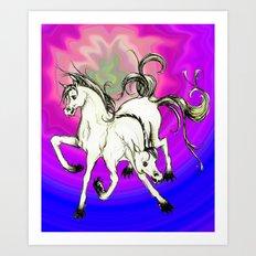 horse of DOOM, revisited Art Print