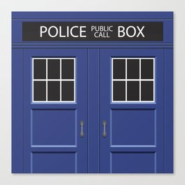 Tardis - Doctor Who Canvas Print