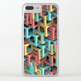 Complex 1A Clear iPhone Case