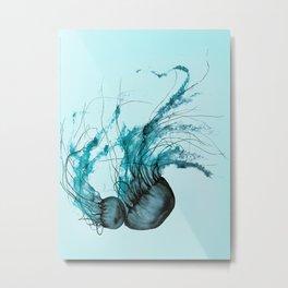 Emerald Waltz, Pacific Sea Nettle Metal Print