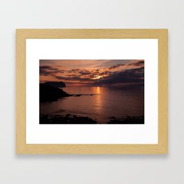 Another day is gone Framed Art Print