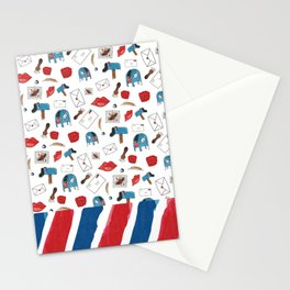Sealed With A Kiss Stationery Cards