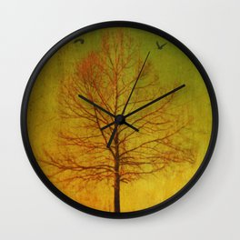 Running Thru My Veins Wall Clock